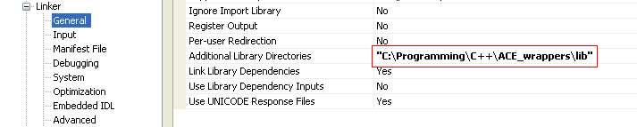 Additional Library Directories